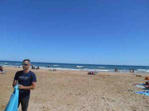 Après le café et une petite sieste c'est direction la plage.