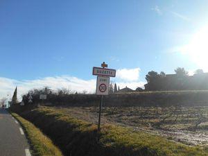 1- Les magnifiques Dentelles. 2- dernier nuage accroché au serre. 3- Village de Suzette.