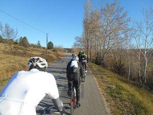 Rapidement il va faire beau, très beau même et en plus chaud, magnifique pour le vélo.