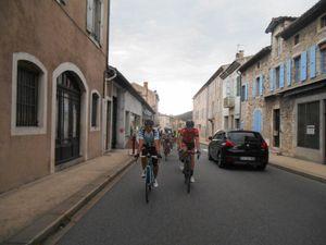 2 ème crevaison de la matinée, celle-là pour Bruno M. dans Viviers.