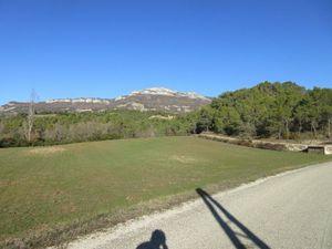 Encore de beaux paysages en sortant de Propiac direction Buis les Baronnies.