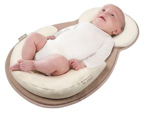 Mon bébé bien calé grâce au CosySleep de Babymoov