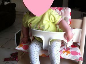 Ma chaise haute Stokke : la Tripp Trapp