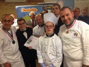 Un jeune cuisinier trisomique breton gagne le très prestigieux concours de &quot&#x3B;l'assiette Gourm'hand&quot&#x3B;