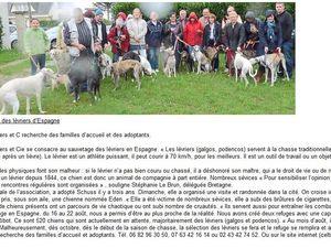 Le bel article dans le Ouest France