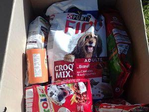 Les dons triés qui vont partir pour UMPA Maroc à la fin de la semaine