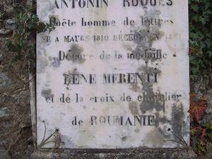 [mars2015] Sa sépulture au cimetière de Maurs