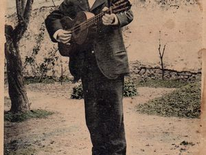 Papa CAYZAC année 1914 pour la CP timbrée.