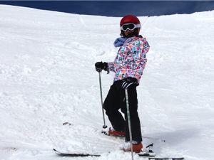 A l'Alpe d'Huez en famille