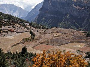 De Pisang (3 330 m) à Nawal (3 650 m)