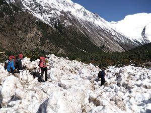 Manang (3 540 m) à Chame (2 660 m)
