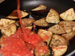 Torsades aux aubergines