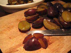 Clafoutarte aux prunes