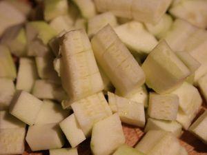 Soupe de panais, carotte et courgette