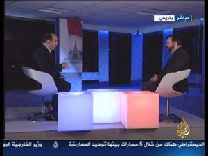 Jean-Paul Ney sur Al-Jazeera à propos des élections présidentielles