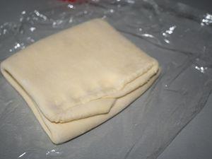 Pâte levée et feuilletée ( pour croissant , pain au chocolat )