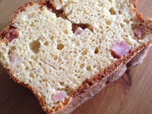 {Healthy} Cake WW jambon fromage