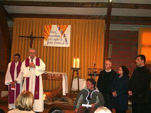 messe du 2e dimanche de l'Avent &#x3B; remise de la lettre pastorale de l'Evêque à Jean-Luc Donnadieu (nouveau membre de l'EAP)