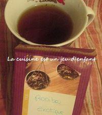 Partenaire Thé saveur café