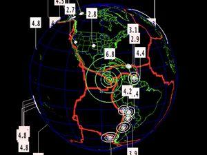 Séisme de magnitude 6.8 au Costa Rica
