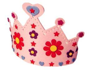 Une jolie couronne de princesse à fabriquer soi-même !