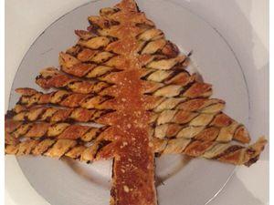 Sapin de noel (apéro ou petit déjeuner)