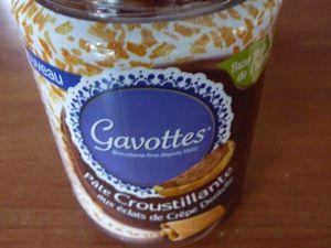 Muffins à la pâte de gavottes