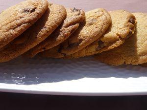 Cookies fourrés au chocolat