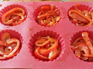 Tatins de poivron