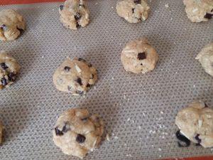 Cookies croustillants à la purée d'amande