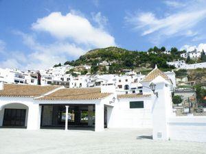 Mijas, village blanc et ses ânes taxis - Nerja.
