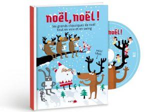Playlist de Noël: CD, chants et comptines.
