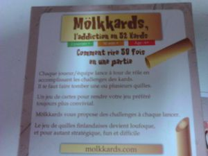 MÖLKKARDS : le add-on du Mölkky