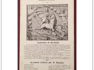 Le Bas Relief du Dieu Mithra à Bourg-Saint-Andéol (Ardèche 07)