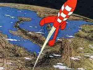 Regards d'enfance : la fusée...
