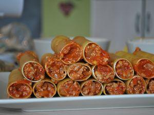 Cannellonis à la viande hachée¶