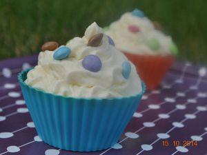 Cupcakes chocolat et smarties!!