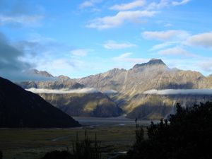 Tekapo Lake &amp&#x3B; Aoraki Mount / Cook Mount