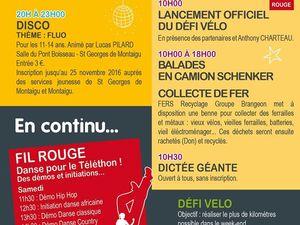 Téléthon à St Georges de Montaigu
