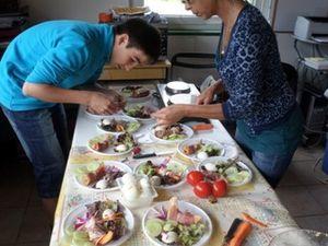 Un atelier cuisine au Hangar du Trocoeur