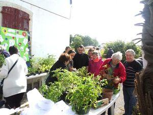 Un troc de graines, plantes et sourires au Jardin du Trocoeur à Bardos