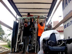 AIMA charge le 45ème camion de son histoire !