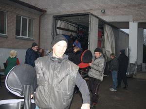 Le premier camion d'AIMA pour la Lituanie