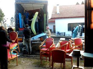 AIMA envoie son 3ème camion de l'année pour une institution spécialisée de Lettonie