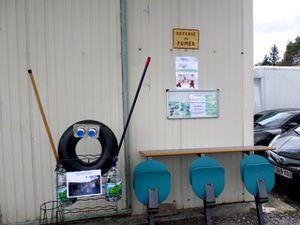 Inauguration de la recyclerie de mobilier professionnel : le Hangar PRO du Trocoeur, à Came