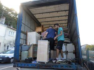 AIMA envoie son 82ème camion vers la Lettonie...