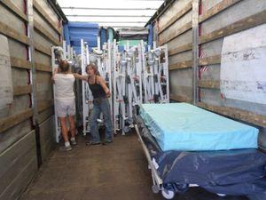 Le 98ème camion d'AIMA pour une maison de retraite de VILNIUS en Lituanie