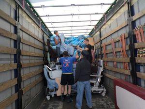 Le 120ème camion d'AIMA part pour les services sociaux d'une commune de Lituanie : ANYKSCIAI