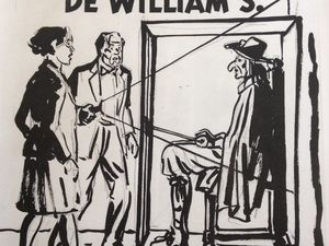 The Will of William S.: cover project, prepublication and other upcoming books