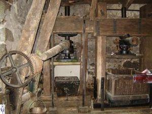 Moulin à farine – Moulin à huile de noix dans un cadre de rêve